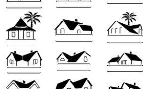 Dachformen für das Haus